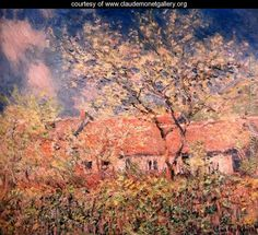 Springtime At Giverny - Claude Oscar Monet - www.claudemonetgallery.org