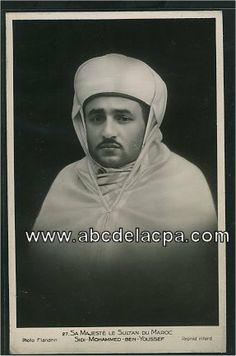 Sultan Sidi Mohammed puis Mohammed V (1927-1961)26958.jpg (287×433)