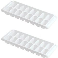 48 Cubes OXO Good Grips Small Silicone Ice Cube Tray bleu