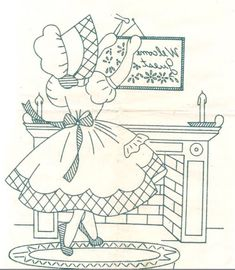 All Vintage:  Sunbonnet Sue patterns,  Chicken Scratch embroidery patterns,  Crochet & Knitting patterns, Embroidery patterns, Quilt patterns Vintage Cookbooks & Recipes