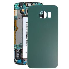 [$4.23] iPartsBuy for Samsung Galaxy S6 Edge / G925 Battery Back Cover(Green)