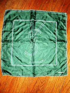 YVES SAINT LAURENT ysl vintage men's silk by RichardsFabulousFind, $45.00