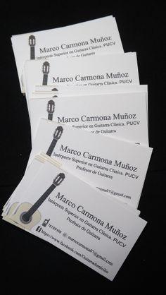 Marco Carmona, Profesor de Guitarra, Diseños e Impresiones Peña, Dimpena