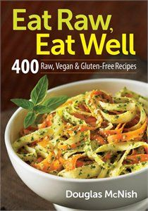 400 Raw, Vegan & Gluten Free Recipes.  While Forks Over Knives does not recommend a raw vegan diet, other research indicates that eating raw vegan foods is important as heat kills the important enzymes in vegetables.