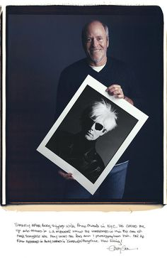 Portraits of famous photographers with their iconic photographs - Greg Gorman