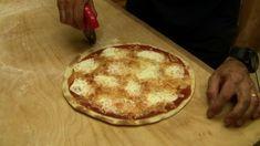 Pizza senza lievito tranci