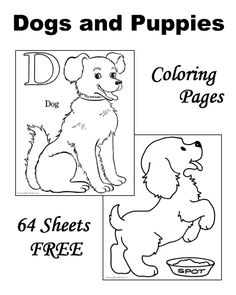 Dog coloring pages - Most amazing site for coloring pages!