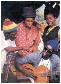 Bunny Wailer, Bob Marley, Rita Marly, Peter Tosh