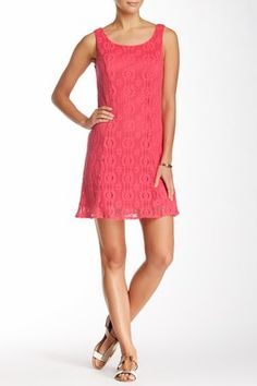 Papillon Crochet Sleeveless Dress