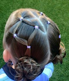 trendy hairstyles for school girls hairdos Little Girl Hairdos, Lil Girl Hairstyles, Girls Hairdos, Princess Hairstyles, Hairstyles For School, Braided Hairstyles, Kids Hairstyle, Toddler Hairstyles, Hairstyle Names