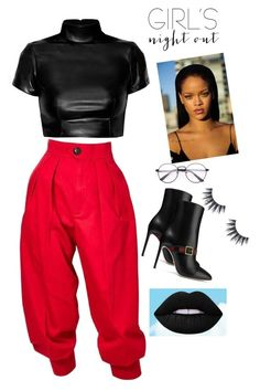 """Untitled #62"" by ralucanitescu on Polyvore featuring Yves Saint Laurent, Puma and Gucci"