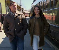 andi-dorfman- Military jacket with leather arms - seen on the bachelorette