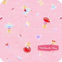 Minny Muu Pink Ballerinas Yardage SKU# 40561L-20