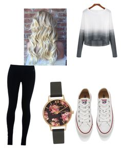 A fashion look from February 2016 featuring long-sleeve crop tops, cotton leggings and converse sneakers. Browse and shop related looks. Leggings And Converse, Nike Converse, Converse Sneakers, Cotton Leggings, Olivia Burton, Long Sleeve Crop Top, Women's Clothing, Fashion Looks, Crop Tops