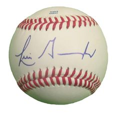 Luis Gonzalez Autographed Rawlings ROLB Leather Baseball, Proof Photo. Luis Gonzalez Signed Rawlings Baseball, Arizona Diamondbacks, Houston Astros, Chicago Cubs, Detroit Tigers, Proof  This is a brand-new Luis Gonzalezautographed Rawlings official league leather baseball.Luissigned the baseball in blue ball point pen.Check out the photo of Luissigning for us. ** Proof photo is included for free with purchase. Please click on images to enlarge. Please browse our websitefor…