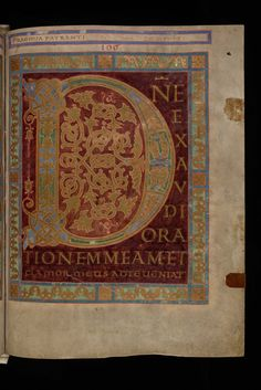 St. Gallen Stiftsbibliothek Cod. Sang. 23 p. 237 by Virtual Manuscript Library of Switzerland