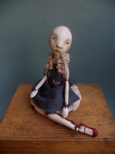 Petuqui Art Doll. Clementina.  petuqui on Etsy.com and Facebook
