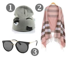 Grey Beanie by fashionfactive on Polyvore