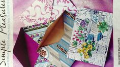 Wallpaper envelopes - DIY for wallpaper off cuts from Country Living. :)