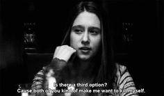"""Violet Harmon for """"Best Dramatic Teenager."""" 