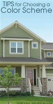 Exterior House Paint Color Combinations - Bing Images
