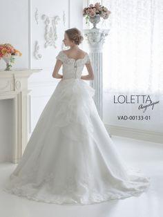 ウェディングドレスレンタルのTIG DRESS SHOPの『VAD-00133-01 シエナ (LOLETTA)』のご紹介です。