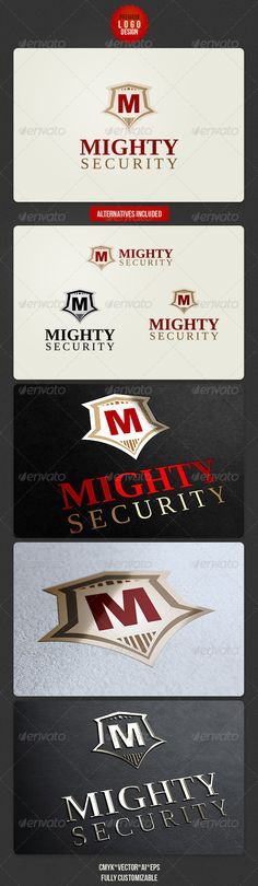Mighty Security Logo Design - http://graphicriver.net/item/mighty-security-logo-design/2767755?ref=cruzine