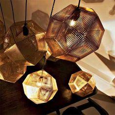 Ein Design mit Lochblech von Tom Dixon.