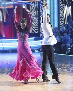 Lisa Vanderpump &    -  Dancing With the Stars  -  1st night   -  Season 16  -   Spring 2013