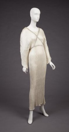 Dress  Mariano Fortuny  The Goldstein Museum of Design