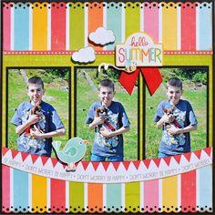 Hello Summer ~My Creative Scrapbook~ - Scrapbook.com