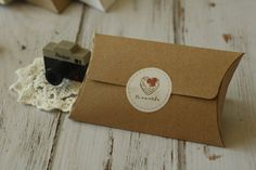 Plain KRAFT Brown NO Glue Pillow Box blanks DIY wedding favour box #Etsy $3/5