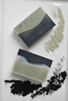 Two Clays & Activated Charcoal Soap, Natural Glycerin Soap, Detox Exfoliating Face and Body soap, Spa Gift, Handmade Soap - This is a special soap, you need to see it, and use it, to fully appreciate the beauty and the properties of the powerful natural ingredients in it. This beautiful handmade soap is made from all natural ingredients - shea butter, mango butter, glycerin, with additions of activated charcoal, bentonite clay, green zeolite clay and fragrance oil. Combination of these…