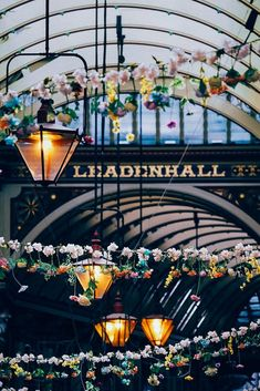 London markets off the beaten tourist track, like the Leadenhall market in Central London. Hidden London, London Market, London Boroughs, Paths, Fair Grounds, Track, England, Marketing, Runway