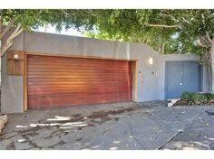 garage door horizontal wood