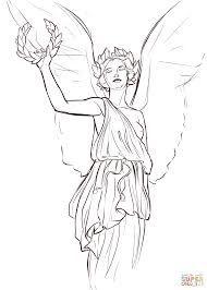 Древнегреческие боги рисунки