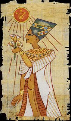 Reina de Oros - El Tarot Egipcio