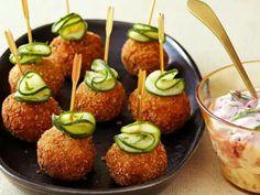 Fried Swedish Meatballs
