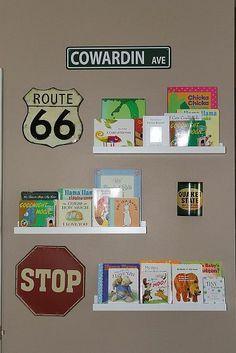 Transportation Themed Boy's Room