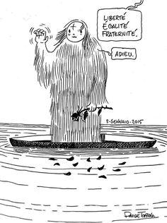Davide Toffolo  #JeSuisCharlie #CharlieHebdo