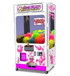 Bubble Crane Machine - The Bubble Crane has an appealing look and is enjoyable to play. Junior, standard, and large sizes available to fit any location requirement or budget. Latest dual electronic co