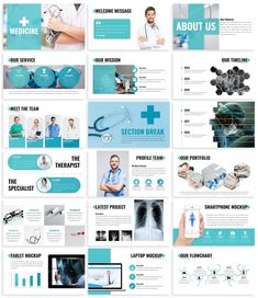 **Medicine - Health Powerpoint Template** This is a Simple & Modern Theme Presentation for Powerpoint, you can use it for Health, Technology, Medical, etc. Free Powerpoint Templates Download, Free Powerpoint Presentations, Powerpoint Tips, Powerpoint Design Templates, Corporate Presentation, Presentation Design, Medical Design, Web Design Tutorials, Best Templates