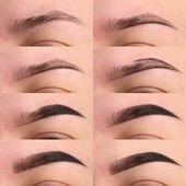 uncategorized THE TECHNIQUE OF PAINTING EYEBROWS IS SOMETHING EVERY GIRL ... - #Eyebrows #Girl #painting #technique #uncategorized Clutch Tutorial, Make Up Palette, Eyebrows, Natural Brows, Makeup Techniques, Makeup For Brown Eyes, Girls Makeup, Pink Lips, Every Girl