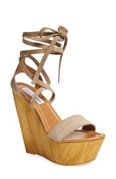 d2711cf11bc90 Steve Madden  Plmbeach  Platform Wedge Sandal (Women) available at   Nordstrom Platform