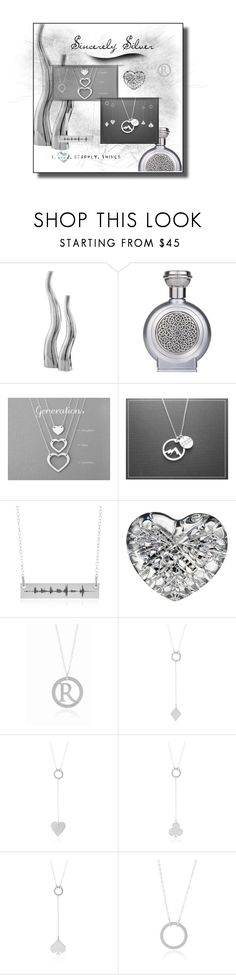 """""""sincerely silver"""" by rachel-hack-1 ❤ liked on Polyvore featuring Boadicea the Victorious, Waterford and sincerelysilver"""