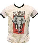 Bkkplaytown The White Stripes T Shirt Rock Band J448