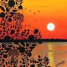 #inspiration #color #secretgarden #painting #color #design
