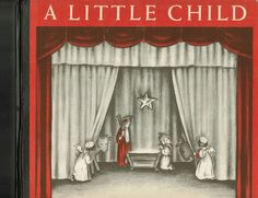 VTG A Little Child Christmas Pageant Book Bible Verses 1946 1st Ed.