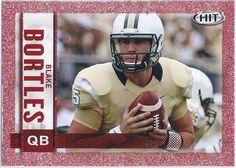 Blake Bortles (Rookie) Jacksonville Jaguars 2014 Sage Hit (Red Parallel) card #105 Football Trading Cards, Football Cards, Jacksonville Jaguars Football, Blake Bortles, College Football, Football Helmets, Nfl, Sage, Salvia