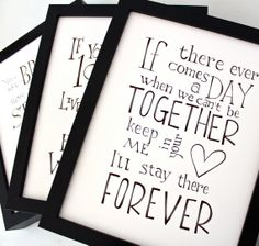 Set of 3 - Winnie the Pooh quotes Disney movie posters, nursery art prints, kids wall art, black and white typographic print on Etsy, $35.88 CAD